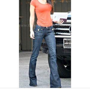 Rock Republic scorpion flare jeans